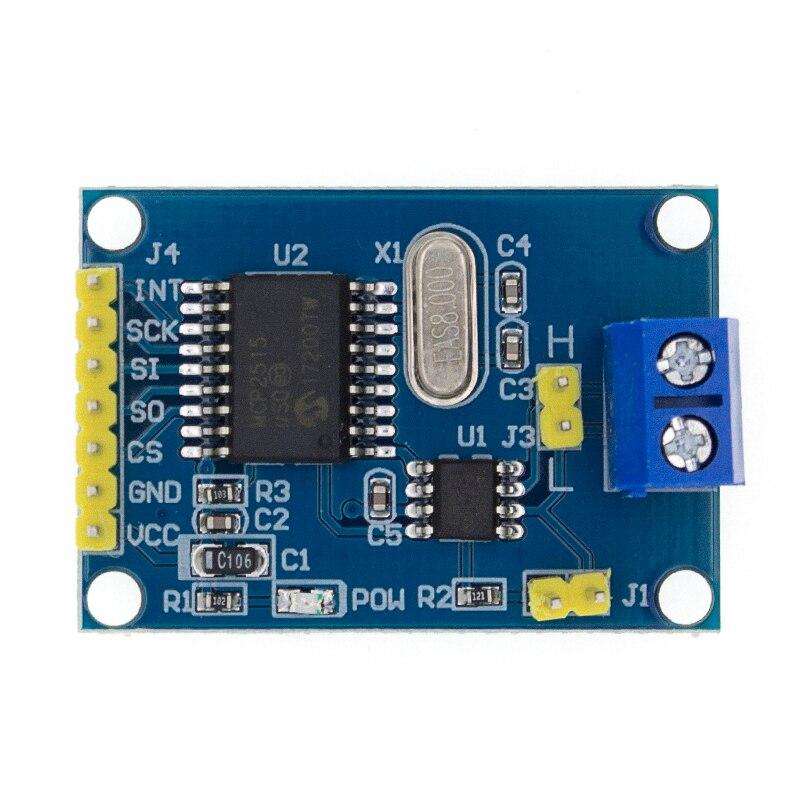Плата модуля CAN Bus MCP2515 TJA1050 приемник SPI для 51 MCU контроллер рычага