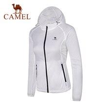 CAMEL Sun-Protective chaqueta mujer hombre UV transpirable resistente al viento secado rápido senderismo Camping al aire libre moda verano 2019