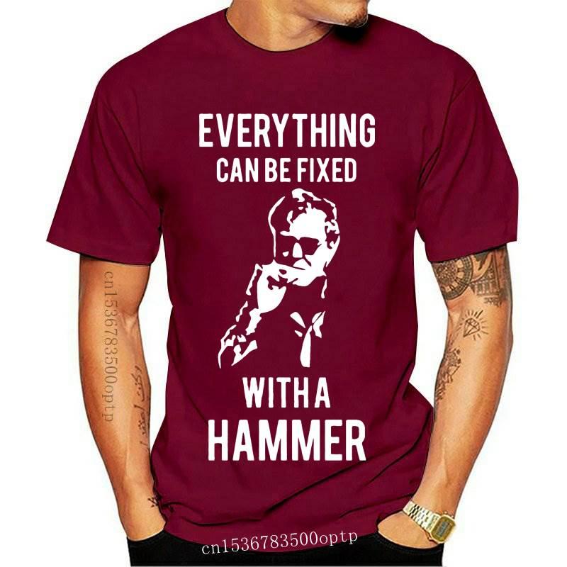 New Jeremy Clarkson Hammer Fix Short Sleeve Mens T-Shirt
