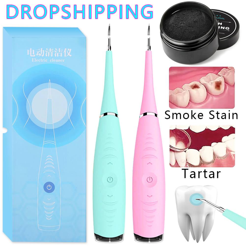 Escalador Dental sónico eléctrico cálculo Dental removedor portátil manchas Tartar dientes dentista vibración blanqueador Dental higiénico dispositivo