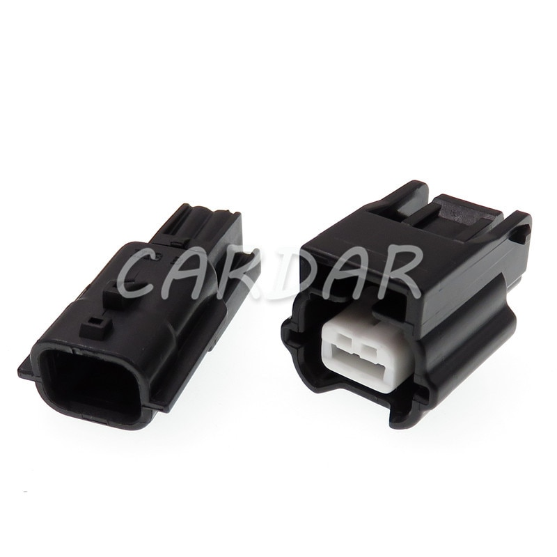 1 Set 2 Pin 7283-8851-30 Automotive Connector Waterproof Electronic Socket ABS Sensor Plug For Nissan for crown reiz electronic steering computer plug electronic power steering computer plug connector