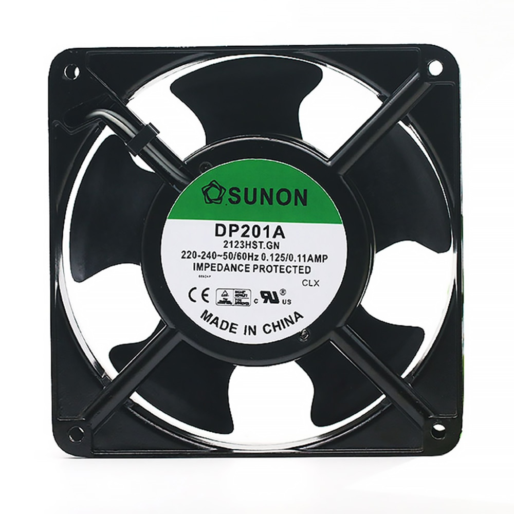 DP201A 2123HST.GN 120mm 120*120*38MM 12038 1238 220V wire type cooling fan new nmb original 12038 24v 0 46a 4715kl 05t b40 120 120 38mm cooling fan
