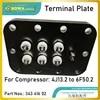 Piastra terminale è per il motore elettrico di cablaggio compatibile con da 4G13. 2 per 6F50. 2 modello semi-ermetico refrieration compressori