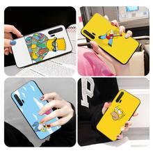 Ctue Simpson Bling mignon étui de téléphone pour Huawei Honor10 view9/10/20/V30Pro honor8X Honor20 étui