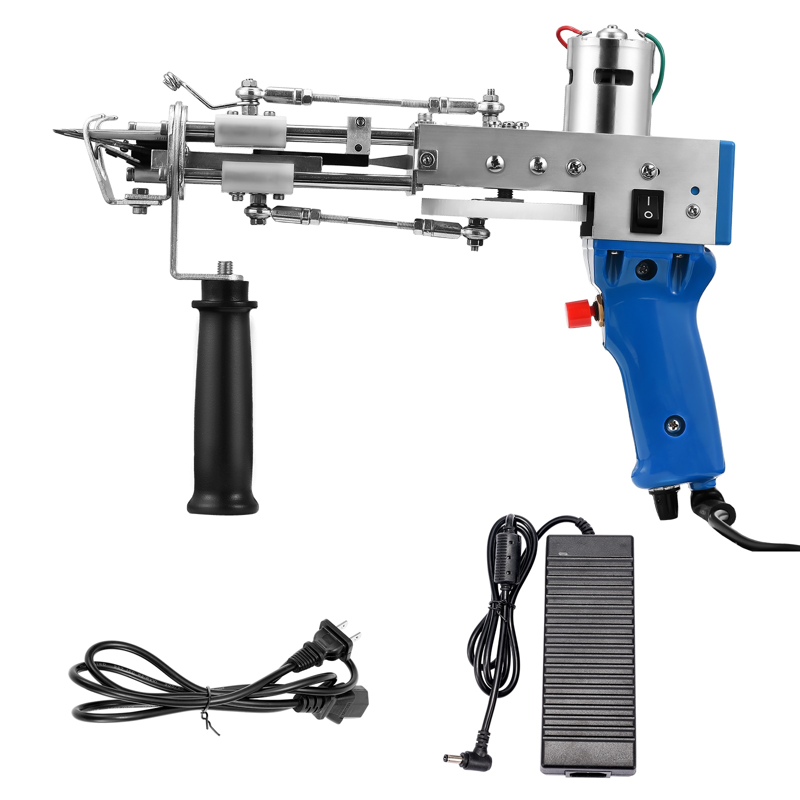 Electric Carpet Tufting GunHand Gun Carpet Weaving Flocking Machines Loop Pile EU UK US Plug Industrial Grade Tools enlarge