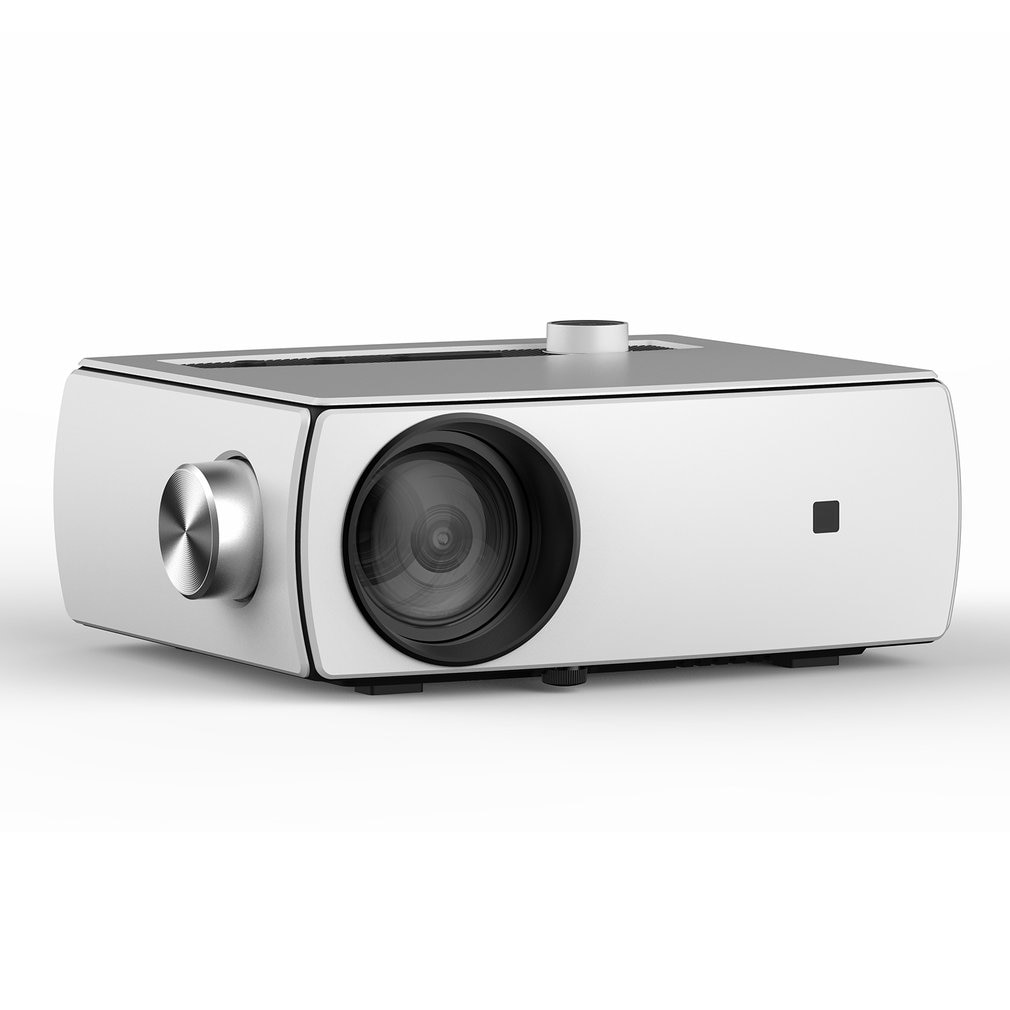 YG430 كامل عالية الوضوح 1080P جهاز عرض صغير دعم 5G واي فاي LED للمؤتمرات المسرح المنزلي ثلاثية الأبعاد الطبقات الحية على الانترنت