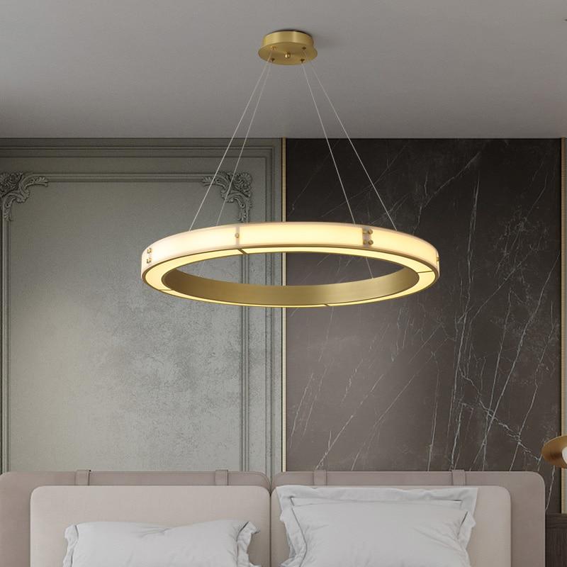 Luminaria nórdica, lámpara industrial, cuerda, lámpara colgante LED para sala de estar, lámpara colgante, luminaria colgante