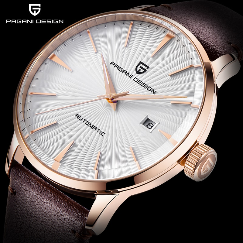 PAGANI Design Men's Mechanical Watches Seagull 2813 Men Stainless Steel Waterproof Automatic Watch Business Clock reloj hombre