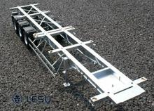 LESU Trailer 1/14 40 Feet Metal Container RC TMY Model Tractor Truck Car DIY TH02025-SMT3