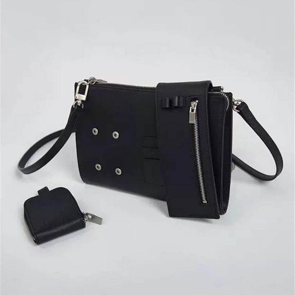 Cowhide Adererror Pure Messenger Bag Men Women Ader Error Backpack Shoulder Bag
