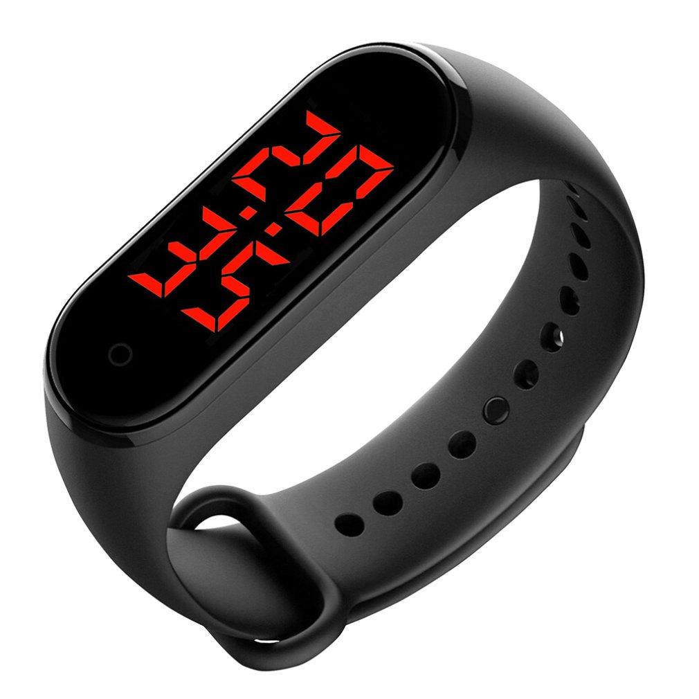 V8 Body Temperature IP68 Smart Bracelet Precise Display Smart Band Clock Time Hours Smart Wristband for Men Women kids Hot