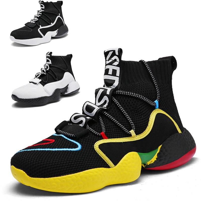 خريف شتاء عالية الجودة خفيفة الوزن حذاء كرة السلة للرجال عادية لينة مقاومة للاهتراء موضة في الهواء الطلق تنس مبركن أحذية رياضية
