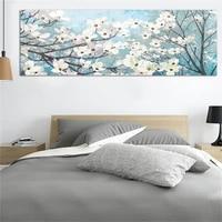 Toile murale a fleurs imprime dart   Affiche dart mode  panneau simple  impressions sur toile  peinture  decoration nordique  decoration de chambre a coucher  de maison  sans cadre