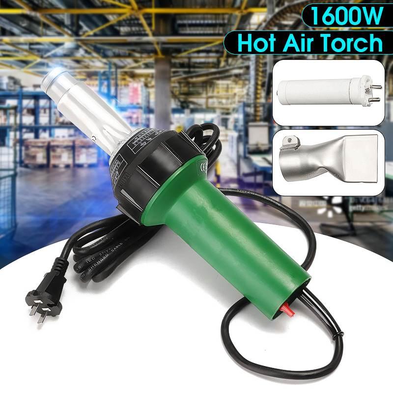 1600W Heat Guns Industrial Electric Hot Air Guns Hair Dryer Hairdryer Soldering Blower For Bumper Shrink Wrap Plastic Torch Tool