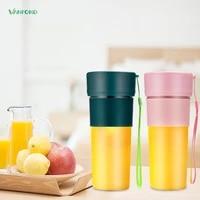 vanfond 270ml mini juice cup outdoor portable 1200mah battery usb charging juice blender fruit jucer