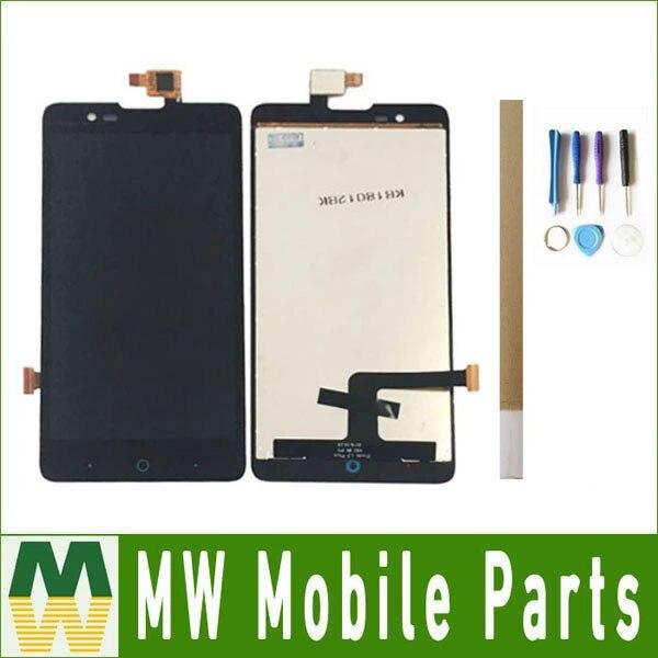 Kolor czarny 1 sztuk/partia dla ZTE Blade HN V993W L3 Plus wyświetlacz LCD + zespół ekranu dotykowego digitizer