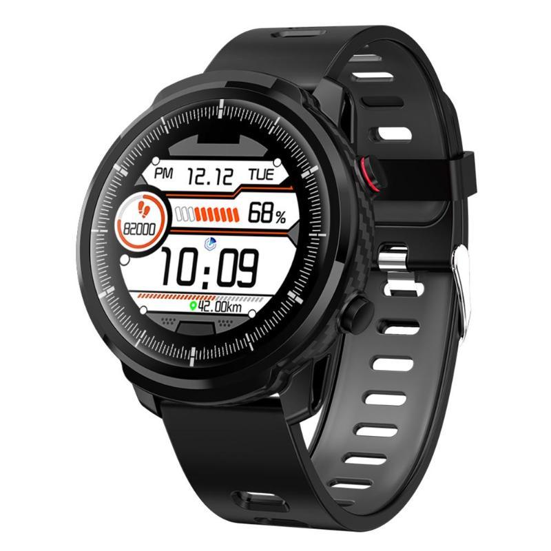 Reloj inteligente L3 IP67 a prueba de agua Frecuencia Cardíaca Fitness Tracker Multi deporte Smartwatch teléfono Control recordatorio a prueba de pérdida