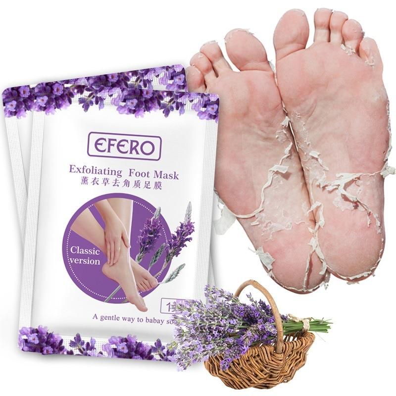 Feet Exfoliating Foot Masks Pedicure Socks Exfoliation Scrub for Feet Mask Remove Dead Skin Heels Foot Peeling Mask For Foot Spa