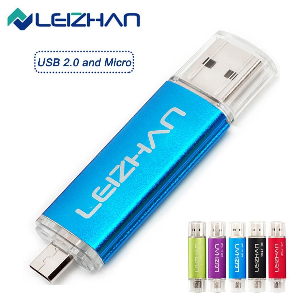 OTG USB Flash sürücü USB2.0 ve mikro 128GB 64GB 32GB 16GB 8GB 4GB bilgisayar Tablet akıllı telefon Pendrive hafıza belleği kalem sürücü