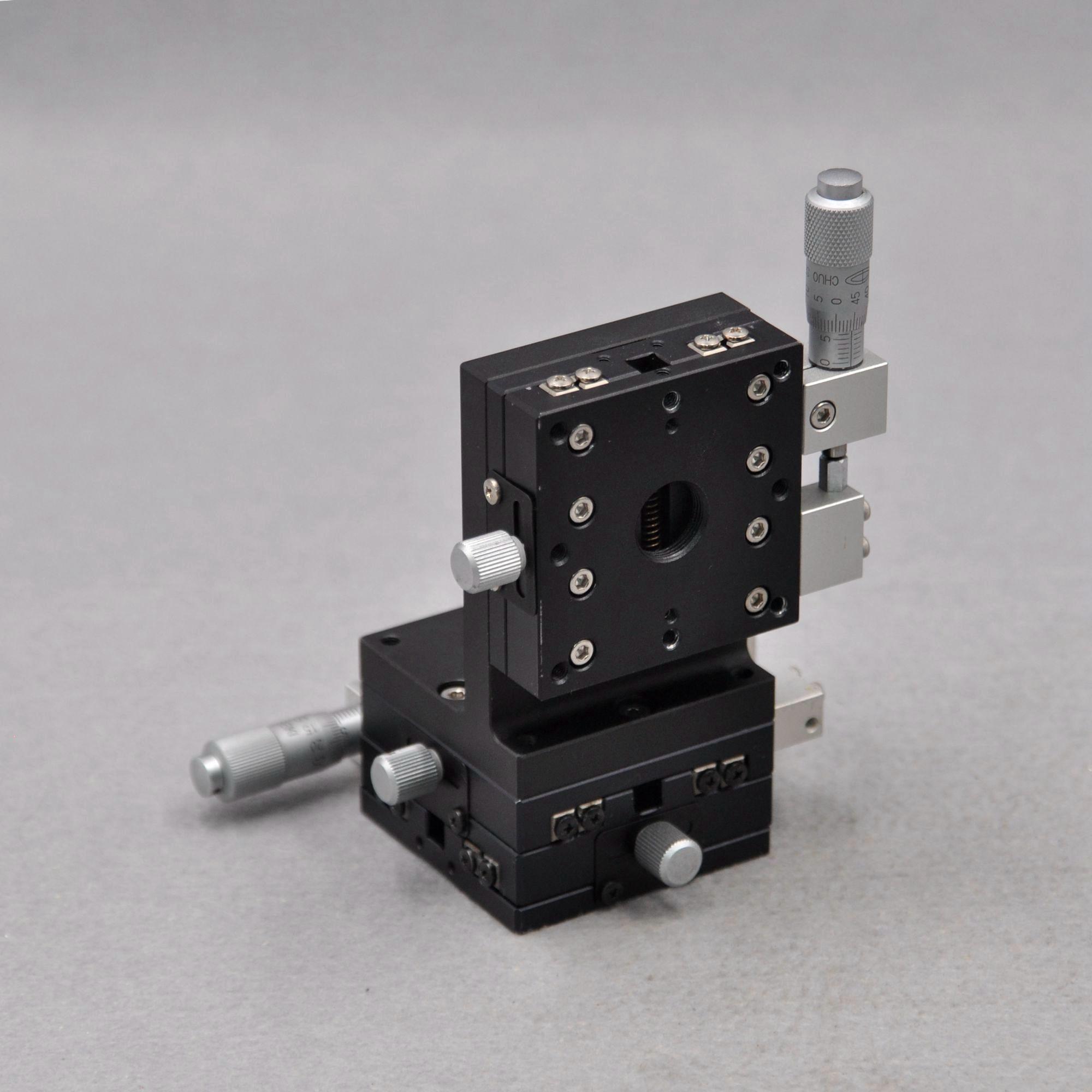 CHUO XYZ axis three-dimensional LS-647-S1 LS-647-R1 LD-647-S1 manual cross rail displacement lifting slide enlarge