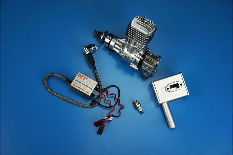 DLE 20 20CC original motor de GAS DLE para modelo de Avión RC superventas, DLE20,DLE-20CC,DLE