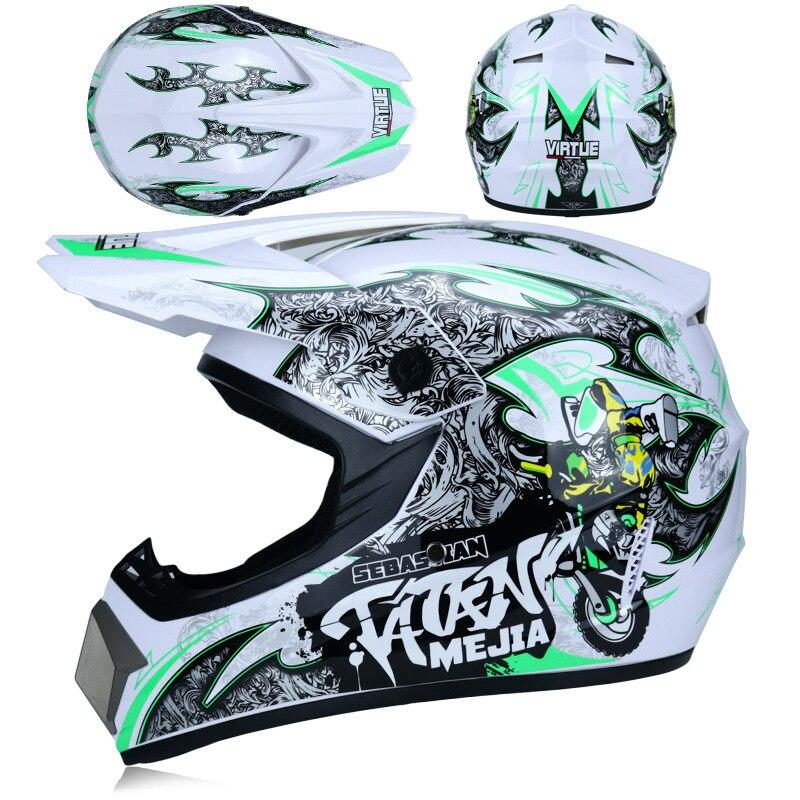 Todoterreno ATV Dirt Bike, Para descenso, MTB DH, carreras, Motocross, casco de...
