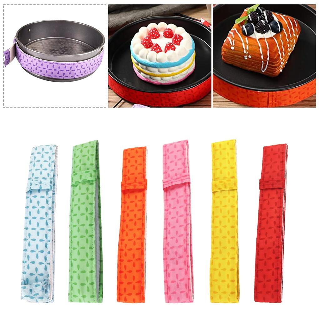 Baking Tray Protection Strap Strip Cake Pan Strips Bake Strip Belt Moist Level Cake Tools Protect Banding Cloth Kitchen Gadgets
