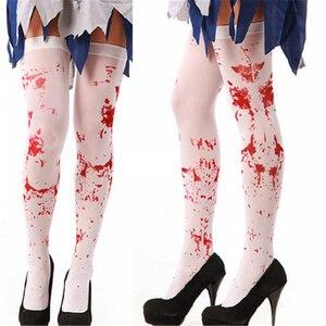 Женские носки до колена с героями мультфильмов «летучая мышь», хлопковые носки для косплея на Хэллоуин, вечерние носки для Хэллоуина, аксес...