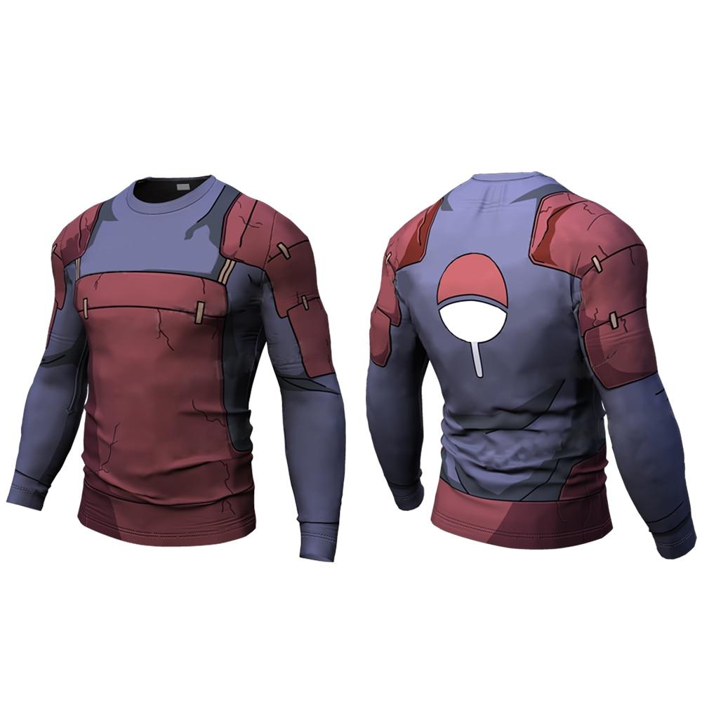 Купить с кэшбэком One Punch Man 3D Printed Quick Dry Men Running T shirt Fitness Tops for Male Bodybuliding Compression Shirts Slimming Tshirt