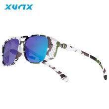 XunX X8008 Man Cycling Glasses Polarized Sunglasses Women 2021 Anti-glare Driving Glasses UV400 Tact