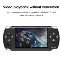 64 bit 4 3 game console handheld game console player with built in 1w game games accessories