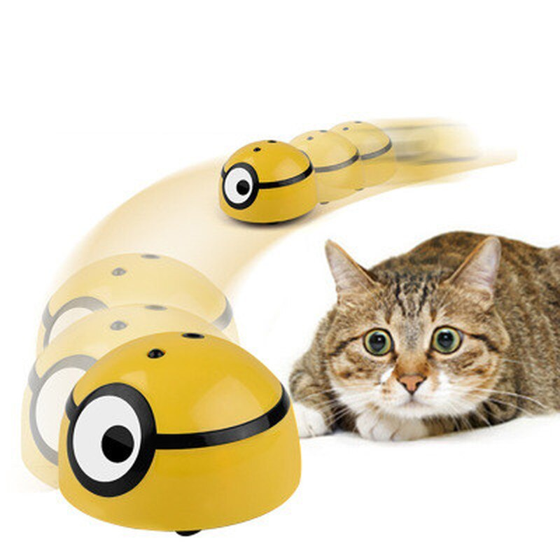 Juguete inteligente interactivo creativo Gato para perros, juguete de Escape automático, Sensor infrarrojo, rascador para gatos, entrega directa para niños