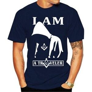 The Masonic Store Freemason Men's T Shirt Summer Fashion Design Round Neck Clothing Short Sleeve Cotton Tops
