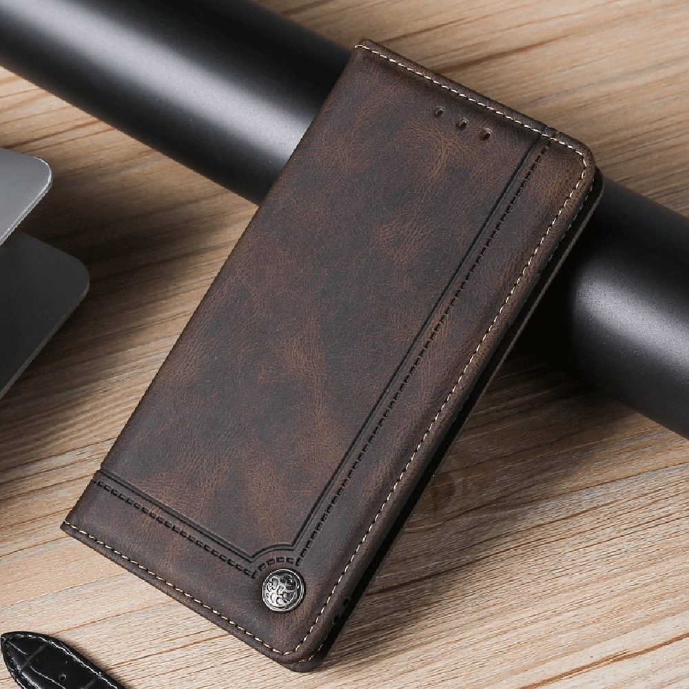 For Samsung Galaxy S7 Case Flip Magnetic Phone Case On Samsung S7 Edge Case Luxury Leather Wallet Ca