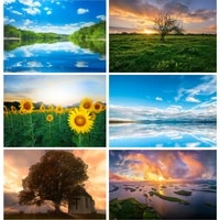 natural scenery photography background flower forest river travel photo backdrops studio props 21813 fjh 02