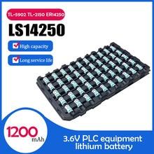 100 pièces nouveau SAFT LS14250 14250 1/2 AA 1/2AA 3.6V Batteries au Lithium pour équipement PLC CNC machine compteur système dalarme batterie sèche
