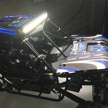 Pour 1/10 Axial Wraith RR10 24 lampes LED barre lumineuse haute luminosité bombardier AX90048 RC voiture mise à niveau KYX pièces