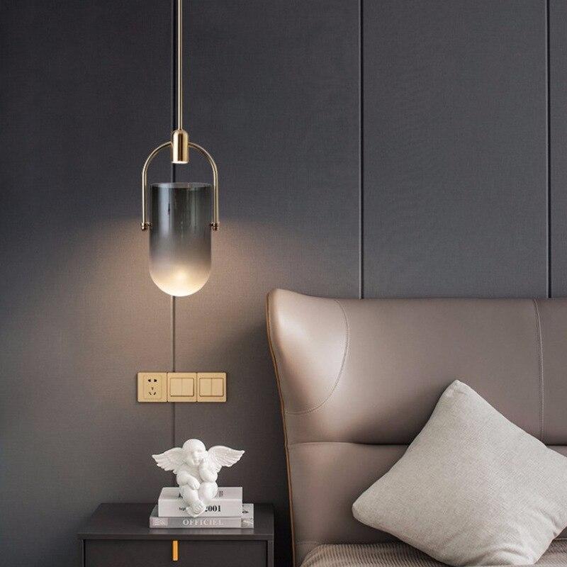 현대 매달려 램프 luminaria pendente 유리 공 거실 식당 매달려 천장 램프
