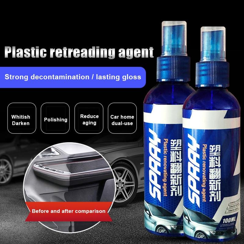 Plastic Restorer Car Exterior Interior Coating Agent Plastic Rubber Restore Agent JAN88