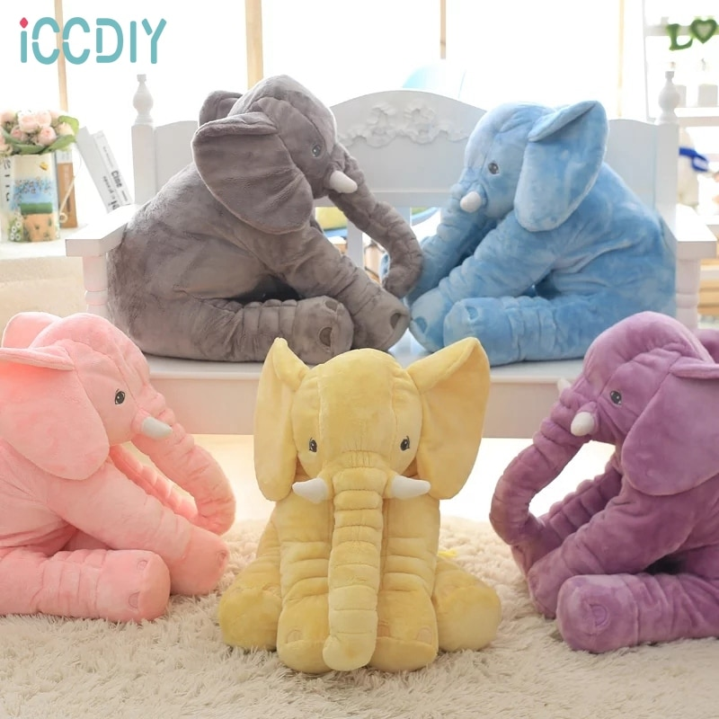 pusheenedplush toys donuts cat kawaii cookie icecream rainbow cake plush soft stuffed animals toys for children kids gift Kids Elephant Soft Pillow Large Elephant Toys Stuffed Animals Plush Toys Baby Plush Doll Infant Toys Children Gift