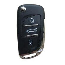 Nouveau DS modifié clé à clapet coque pour CITROEN c-triomph Xrasa Picasso C2 C3 C4 C5 C6 C8 télécommande 2 3 boutons pour Peugeot 307 308 408
