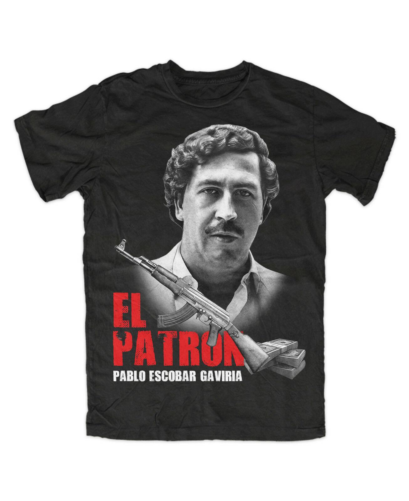 El patrón de Pablo camiseta Kult de droga crimen Cartel de drogas...