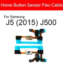 Home Return Button Flex Cable For Samsung Galaxy J5 (2015) J500 Audio Jack Port Flex Ribbon Replacem