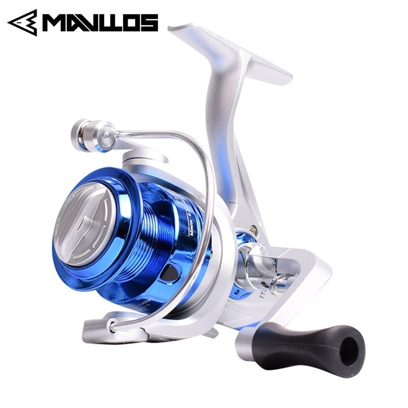 Mavllos Cheap Max Drag 10kg Carp Spinning Fishing Reel Saltwater Metal Gear Surf Freshwater Fishing Spinning Reel 2000 3000 6000 enlarge