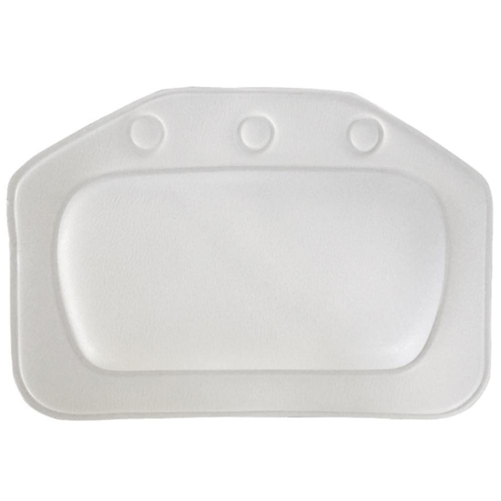 Almohada suave con ventosa para reposacabezas de SPA, almohada de baño para el hogar, almohada para bañera de PVC, cojín para bañera y cuello, almohada de soporte para el cuello