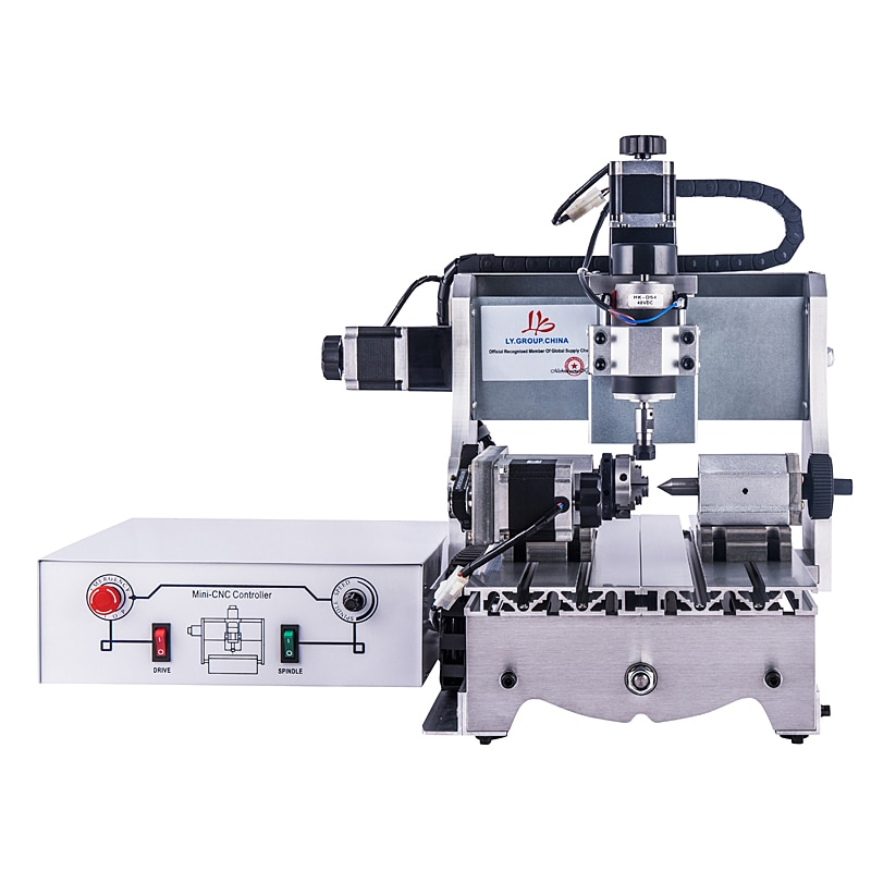 Mini CNC grabador CNC 3020 t-d300 fresadora con 300W DC Motor de husillo de potencia para Diy Hobby Personal
