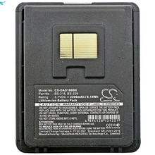 Cameron Sino 2200mAh Battery 127021590, 127021591, 94ACC0054, BS-215, BS-229 for Datalogic Mobile Sc