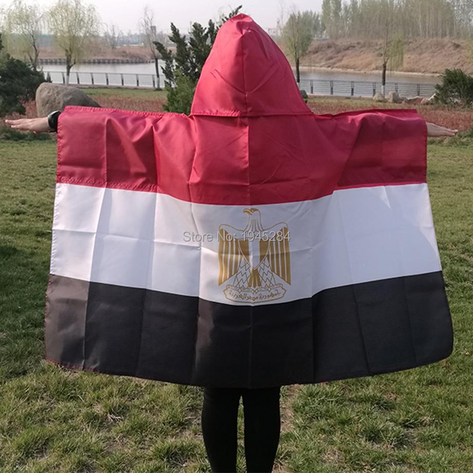 Egito bandeira do corpo do cabo bandeira nacional egípcio bandeira 3x5ft mundo país esportes fãs bandeira cape poliéster, frete grátis