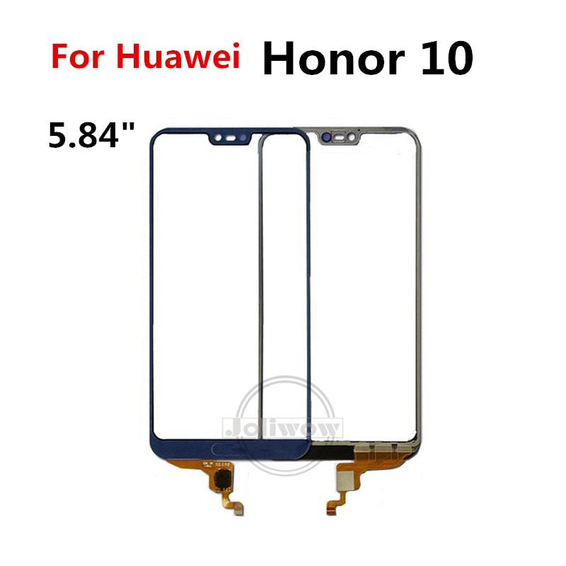 Mobile Phone Touch Sensor Panel For Huawei Honor 10 Touch Screen Front Glass Lens Outer Sensor For H