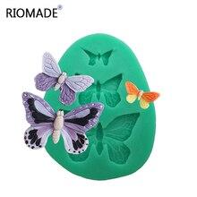 Schmetterling Polymer Clay Silikon Form Für Epoxy Harz Kuchen Dekorieren Hexapod Form Schokolade Form Zum Backen Cupcake F0097hd35